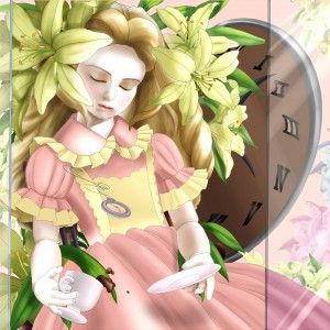 【ペイントツールSAI】メイドさん修正版。