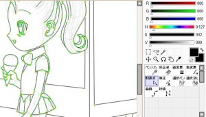 お絵描きソフトSAIの特徴などを紹介するよ